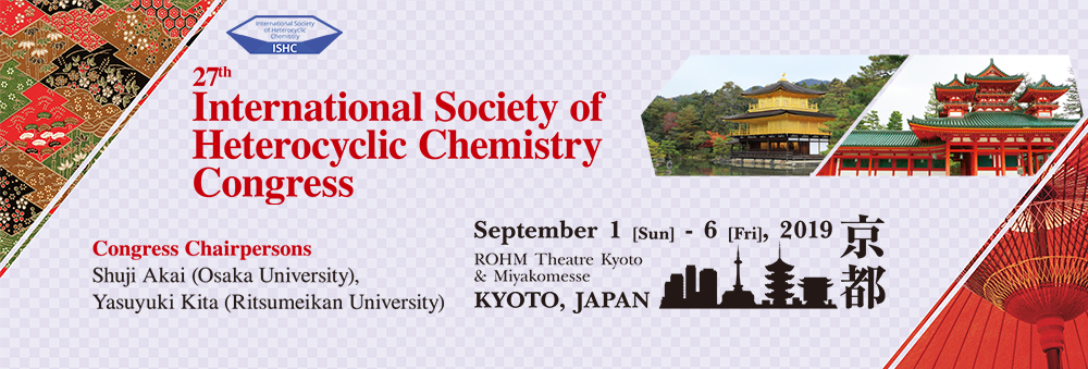 27th International Society of Heterocyclic Chemistry Congress